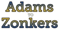 Adams to Zonkers